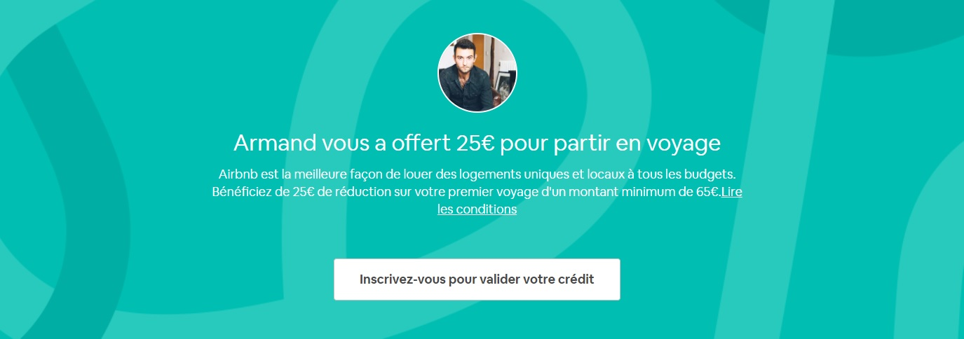 code reduction airbnb 25 euros
