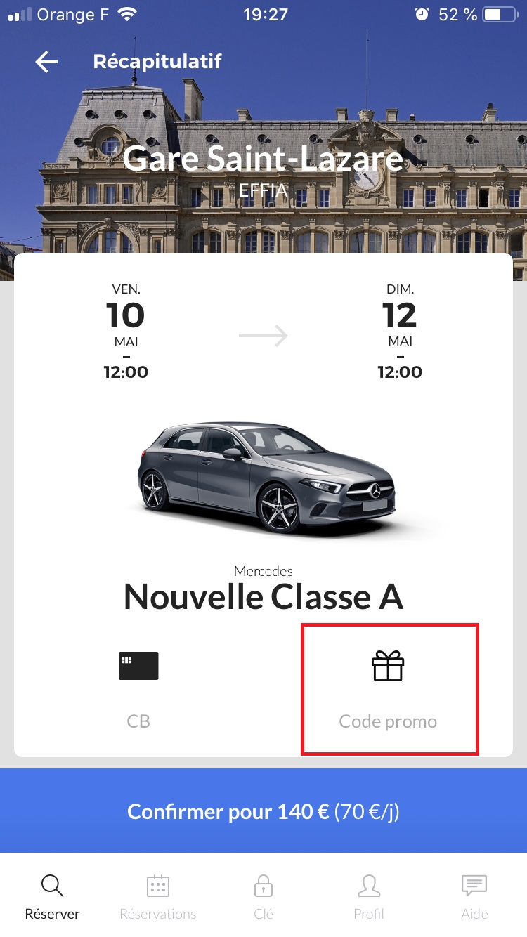 reservation voiture virtuo